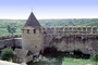 Castle, Tower, Building, Cone Roof, Khotin, CFUV01P03_05