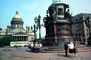 St. Issac's Cathedral, Statue to Peter the Great, CGKV01P10_18