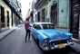 Chevy, Chevrolet, Old Havana, Buildings, Curb, Sidewalk, CICV01P01_12