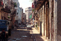 Old Havana building, sidewalk, cars, CICV01P04_13