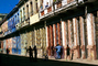 Colorful Buildings, Sidewalk, Old Havana building, Havana, CICV01P06_19
