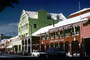 Archie Brown & Son, buildings, shops, cars, Bermuda