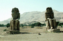 Sitting Colossi of Memnon, twin stone statues of Pharaoh Amenhotep III, Theban necropolis, Colossus, Luxor