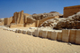 The Funerary Complex of Djoser (Zoser), Saqqara, Temple, Building, ruins