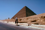 Pyramid, Men Walking, Camel, Giza