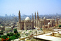 Mosque, Minaret, Cairo, landmark, Old Cairo - View from the The  Mohammed Ali  Mosque