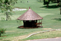 Abidjan, thatched roof, roundhouse, building, Sod, CJIV01P02_02