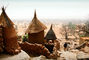 Thatched Roof House, Home, Grass Roofs, Building, Dogon Country, Mopti Region, Sahil, Sahel, roundhouse