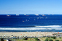 Beach, waves, ocean, cars, road, Cape Town, CKFV01P02_03