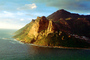 Cliffs, Mountains, Shoreline, Table Mountain National Park, Cape Town, CKFV01P06_12