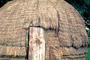 Beehive Grass Hut, Door, Entrance, Building, Cape Town, CKFV01P08_15