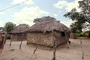 Huts, Village, Thatched Roof House, Home, Grass Roofs, fence, building
