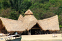 unique building, thatched roof, CKTD01_054