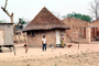 Thatched Roof Houses, Homes, Grass Roof, buildings, roundhouse, desert, Madzongwe, building, Sod, CKZV01P02_12