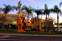 Palm Trees, Beverly Hills, buildings, CLAD01_194