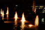 Water Fountain, aquatics, Century City, night, Exterior, Outdoors, Outside, Nighttime, CLAV01P04_04