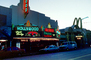 Hollywood Movie Theater building, McDonalds arches, neon sign, marquee, CLAV02P05_03