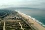 Beach, Sand, Pacific Ocean, waves, Playa Del Rey, Palos Verde Peninsula, CLAV03P11_16