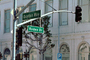 Rodeo Drive, street signal, light, Street Sign, Signage, CLAV05P08_19
