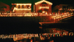 Dock, Canal, Water, Home, House, Snow, Cold, night, nighttime, decorated, lights, CLAV05P15_19