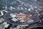 Fashion Island, Shopping Center, Round, Circular, Circle, buildings, stores, mall, suburbia, suburban, CLAV06P01_06