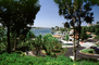 Docks, Homes, Lakeshore, Lake, water, buildings, Mission Viejo, CLAV06P09_16