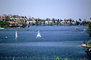 Sailboats, Homes, Lakeshore, Lake, water, buildings, Mission Viejo, CLAV06P10_08