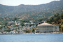 the Casino, bluffs, building, docks, homes, houses, mountains, Avalon, Harbor, landmark, CLAV06P14_05