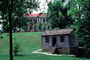 Cabin, dwelling, lawn, house, Building, domestic, domicile, residency, housing, My Old Kentucky Home, CLKV01P13_02
