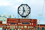 building, huge clock, Colgate, Clarksville, outdoor clock, outside, exterior, CLNV01P02_17