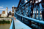 John A. Roebling Suspension Bridge, Cincinnati