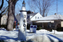 Snow, ice, home, house, winter, 3407, Mailbox, Racine, CLWV01P09_18