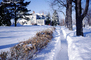 Homes, Mansion, sidewalk, path, Snow, Cold, Ice, Cool, Frozen, Icy, Winter, CMIV01P04_18