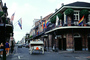 Balcony, Flags, French Quarter, CMLV01P10_12