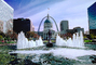 Dome, Saint Louis Historical Old Courthouse, The Gateway Arch, Water Fountain, aquatics, Exterior, Outdoors, Outside