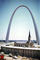 The Gateway Arch, Cars, Church, building, 1972, 1970's, CMMV02P11_07