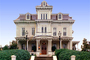 Spooky Mansion, home, house, single family dwelling unit, building, domestic, domicile, residency, housing, Natchez, CMSV01P11_01B