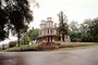 home, house, single family dwelling unit, building, domestic, domicile, residency, housing, Corner, Mansion, Natchez, landmark, CMSV01P11_14