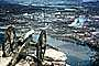 Cannon over the river, Chatanooga, Tennessee River, city, overlook, Lookout Mountain, CMTV01P01_09