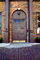 Door, Doorway, Entrance, Entryway, Wooden Door, Brass Kick Plates, Arch, CMTV01P10_08