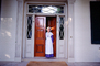 Woman, doorway, entrance, costume, The Hermitage, CMTV02P01_19