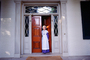 Woman, doorway, entrance, costume, The Hermitage, CMTV02P02_01