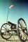 Civil War Cannon, Artillery, gun, overlooking Chatanooga, Tennessee River, Lookout Mountain, battlefield, CMTV02P13_15