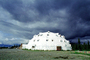 Igloo Hotel, near Denali, dome, building, CNAV01P04_18