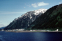 Gastineau Channel, mountain, cityscape