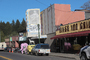 River Theater, pink elephant, marquee, roadster, motorcycle, car, CNCD03_188