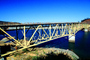 Rockpile Road Bridge, Lake Sonoma, Sonoma County, Deck truss bridge