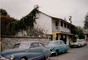 Whaling Station Inn, building, cars, 1950's