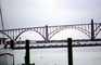 Yaquina Bay Bridge, Newport, US Highway 101, Lincoln County, Oregon, Steel through arch bridge, Landmark, CNOV02P06_11