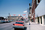 Oldsmobile Car, Buildings, Grier, downtown, Cheyenne Wyoming, Main Street, Parking Meter, Flags, July 1965, 1960's